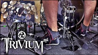 PEDAL DUPLO CAM | TRIVIUM - THE SIN AND THE SENTENCE | DRUM COVER | PEDRO TINELLO