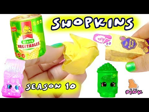 #СЮРПРИЗЫ ШОПКИНС 10 СЕЗОН! Shopkins Season 10 #Игрушки для Детей с Май Тойс Пинк #ad