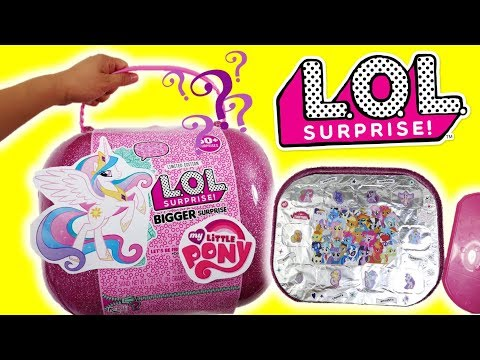 My Little Pony LOL Bigger Surprise Toy Box LOL Surprise MLP