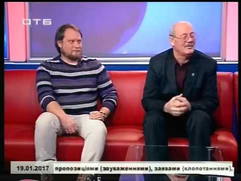 Олександр Ґава та Кирило Лукашов в етері харківського телеканалу ОТБ