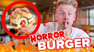 McDonalds PRANK - HORROR BURGER ! 😱 - TOP 5 Fast Food PRANKS II RayFox