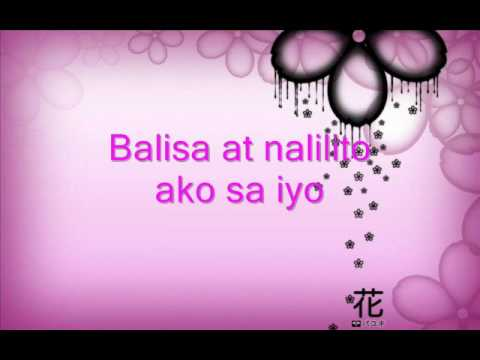 FATED TO LOVE YOU tagalog i love him 99 times (tagalog Version Balisa)-Angel Macatuno Lyrics