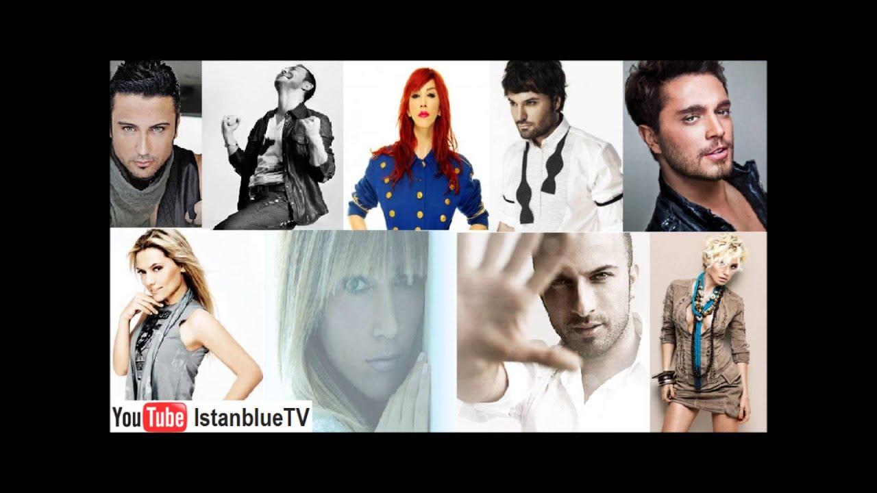 Всё турецкий поп песни