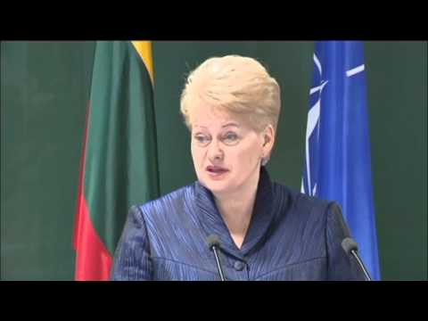 Lithuania's Iron Lady: President Grybauskaite voted top promoter of Ukraine in 2014
