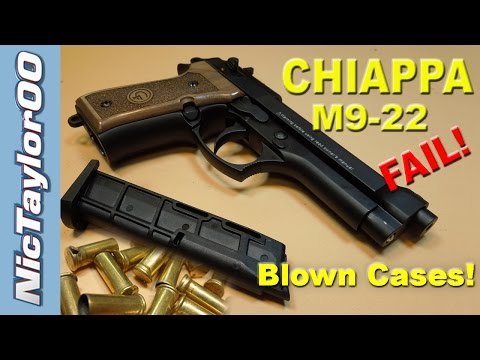 Chiappa M9-22 Pistol - A Complete Failure & Dangerous to Shoot!