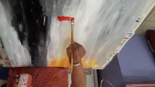 Canvas Painting Nina Bhargava