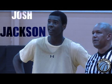 Top Ranked Josh Jackson throws alley-oop to HIMSELF on the break [Rivals #1 c/o 2016]