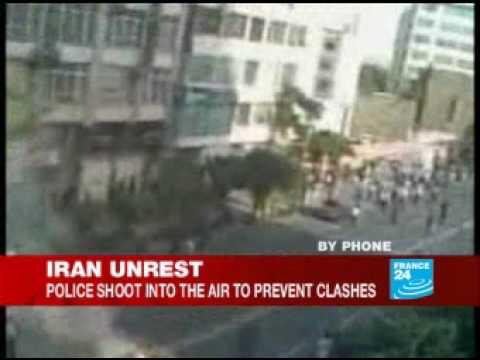 Terrorist bomb near Khomeini's shrine in Tehran - 20 Jun 09