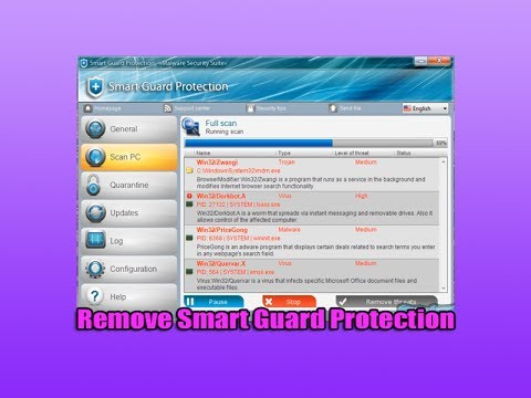 Remove Smart Guard Protection