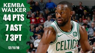 Kemba Walker goes off for 44 points in Celtics vs. Pacers | 2019-20 NBA Highlights