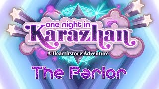 Hearthstone: Karazhan Playthrough - The Parlor Normal & Class Challenges