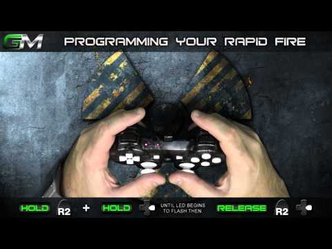 GamerModz PS3 SPS-X1 Ver. 2.0 - Rapid Fire Modded Controller Tutorial