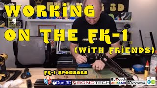 Super secret stream to work on a secret project... the FK-1