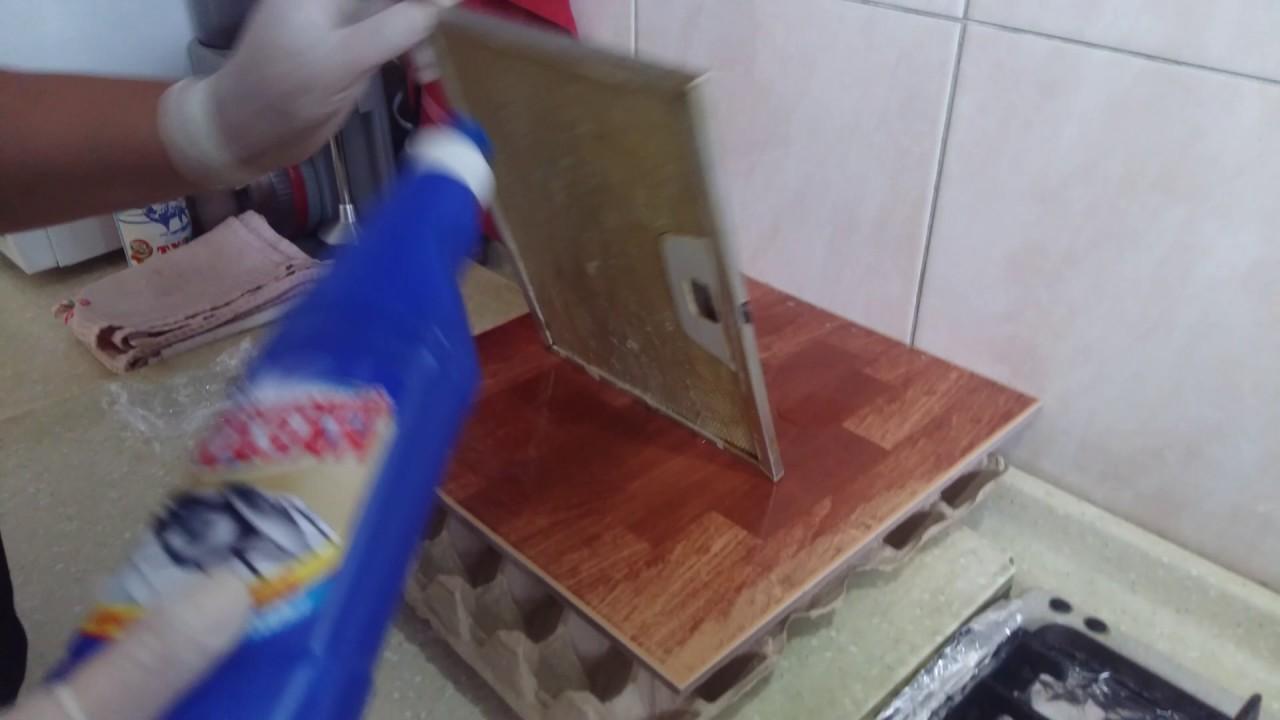 Чем отмыть сетку вытяжки в домашних условиях 14