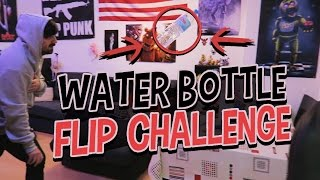 EL RETO DE LA BOTELLA  (WATER BOTTLE FLIP CHALLENGE)