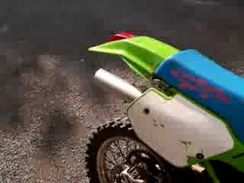 Kawasaki KDX 200 Video