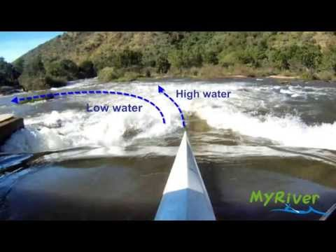 Nagle Dam Weir - Umgeni River, Table Mountain (22 cumecs)