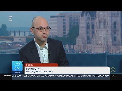 Lapszemle - Bándy Péter - ECHO TV