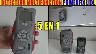 détecteur multifonction lidl powerfix pmdl 5 multi-purpose detector multifunktionsdetektor