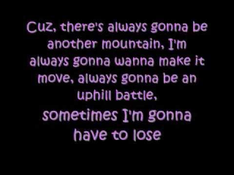 Miley Cyrus-The Climb testo