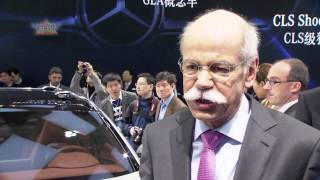 Mercedes-Benz and SMART at 2013 Shanghai Auto