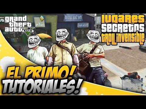 GTA 5 ONLINE - LOS MEJORES ESCONDITES PARA TROLL'S / TRUCOS - GLITCH'S - BUG'S
