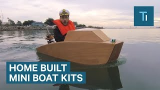 You Can Build Your Own Mini-Motorboat With This $950 Kit