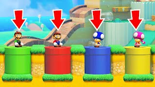 Super Mario Maker 2 - Online Multiplayer Versus #49 (Four Player Matches)