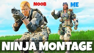 BLACKOUT NINJA MONTAGE   Black Ops 4 Funny Moments & Fails (Trolling People In BO4)