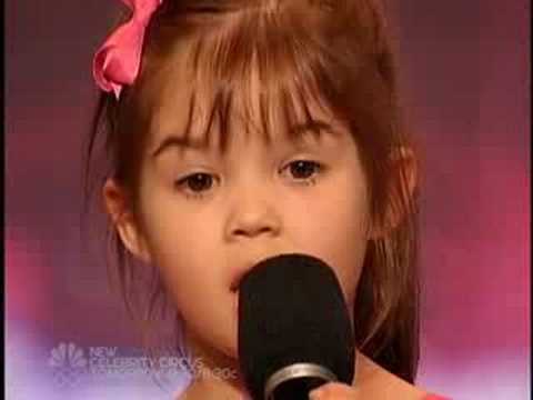 America s Got Talent - Kaitlyn Maher - Youngest Singer I have ever seen