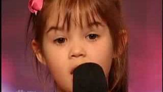 America's Got Talent - Kaitlyn Maher - Youngest Singer I have ever seen