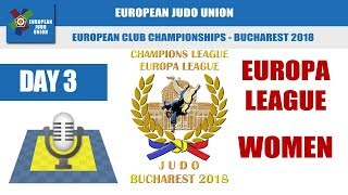 European Club Championships - Europa League WOMEN - Bucharest 2018