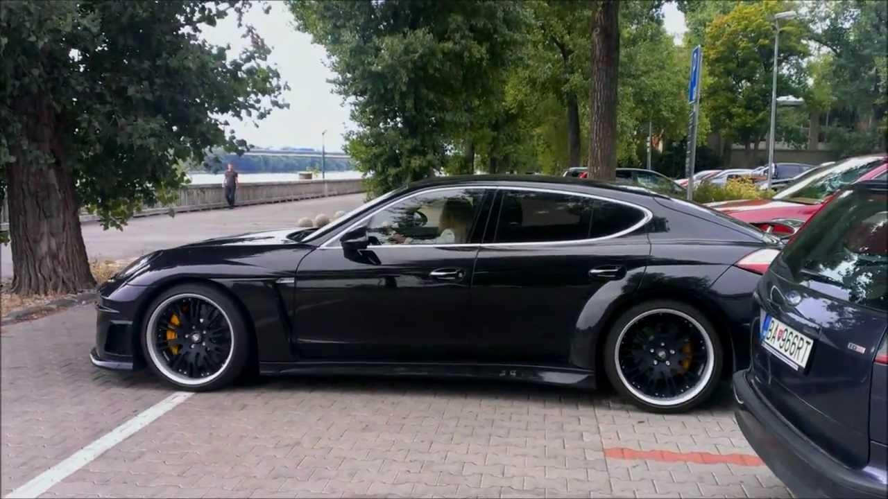 Porsche Panamera Lumma Clr 700 Gt Walkaround Parking