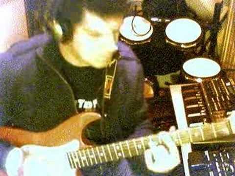 Solo  guitare et cocotte  funk.Compo