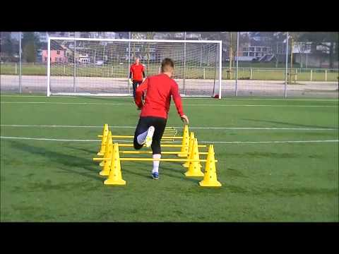 Soccer Komplextraining like Arsenal London - Mesut Özil - Arsene Wenger - Speed - Power -