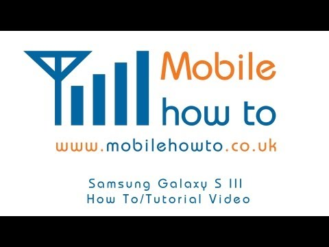 How To Connect To/Setup WiFi/Wireless - Samsung Galaxy S3