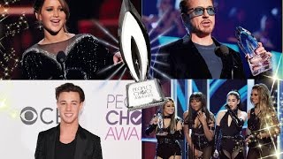 LO MEJOR de los PEOPLE´S CHOICE AWARDS 2017