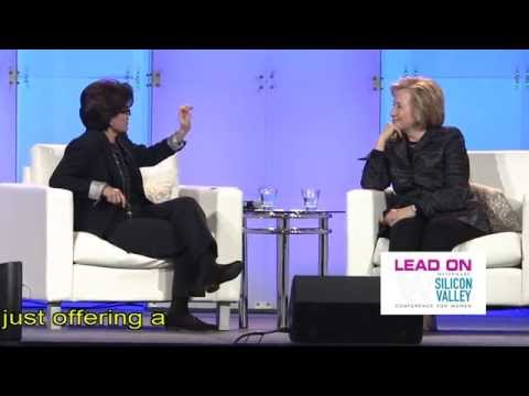 Hillary Clinton Interviewed by Kara Swisher at 2015 Lead On Conference for Women