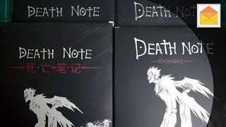 Death Note Notebooks FAKE vs THE REAL ONE Comparison