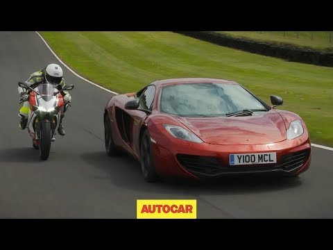 It's one-nil to the supercar at Cadwell Park, but can the McLaren 12C retain four-wheeled honours as it takes on the incredible Ducati 1199 Panigale S? Steve Sutcliffe referees. SUBSCRIBE...