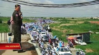 Campuchia giải tán đảng đối lập