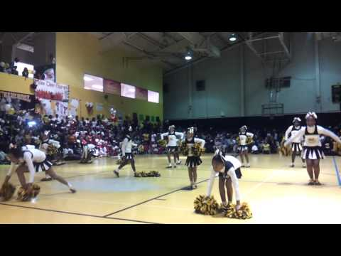 Willie Hall Panthers... Cheer competition 2012...