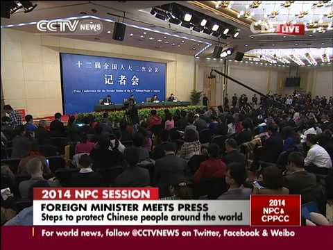 Question for Foreign Minister Wang Yi: On protecting safty and interest of Chinese abroad