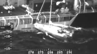 Tor Viking Rescues Mariner and His Cat - Oct. 20, 2015
