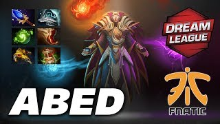 Abed Invoker GREAT SE Asia PLAYER | Fnatic vs VG | DreamLeague Dota 2