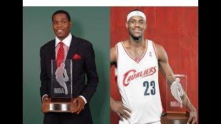 NBA Rookie of the Year Each Season (1952-2017)