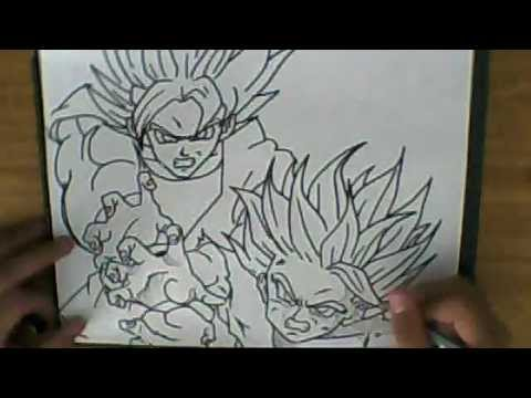 How Father How to Draw Kamehameha Father