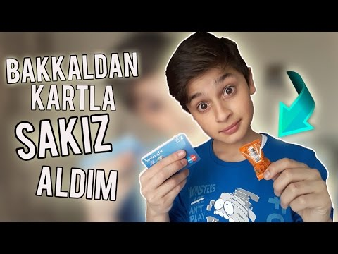 KREDİ KARTIYLA SAKIZ ALDIM !! - Bakkalı Delirttim