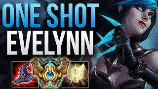 EVELYNN CRAZY ONE SHOTS ARE BACK - SOLO CARRY! | EVELYNN JUNGLE GAMEPLAY | Patch 8.11 S8
