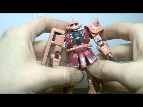 1/144 RG Char Zaku II Review
